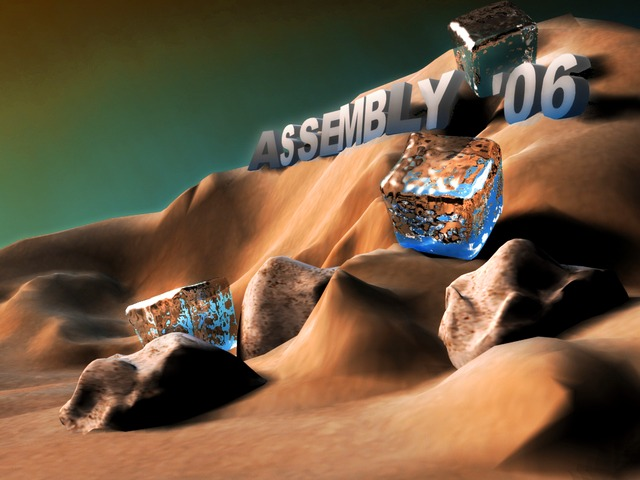 Assembly On The Rocks by Osmic/Unknown Artists