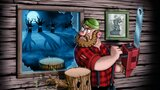 Occupational hazards of lumberjacks: tree zombies by Kinnerean